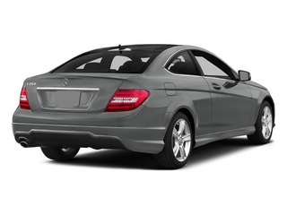 Palladium Silver Metallic 2015 Mercedes-Benz C-Class Pictures C-Class Coupe 2D C250 I4 Turbo photos rear view