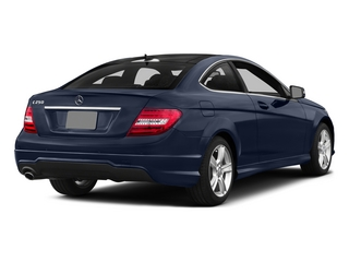 Lunar Blue Metallic 2015 Mercedes-Benz C-Class Pictures C-Class Coupe 2D C250 I4 Turbo photos rear view