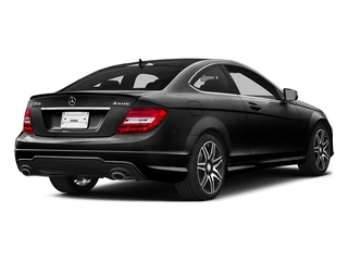 Magnetite Black Metallic 2015 Mercedes-Benz C-Class Pictures C-Class Coupe 2D C350 V6 photos rear view