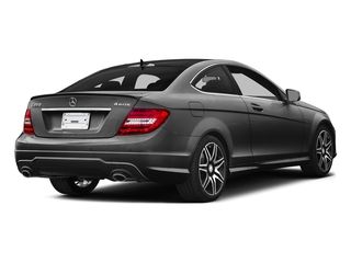 Steel Gray Metallic 2015 Mercedes-Benz C-Class Pictures C-Class Coupe 2D C350 V6 photos rear view