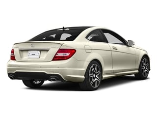 Diamond White Metallic 2015 Mercedes-Benz C-Class Pictures C-Class Coupe 2D C350 V6 photos rear view