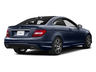 Lunar Blue Metallic 2015 Mercedes-Benz C-Class Pictures C-Class Coupe 2D C350 V6 photos rear view