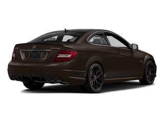 Dolomite Brown Metallic 2015 Mercedes-Benz C-Class Pictures C-Class Coupe 2D C63 AMG V8 photos rear view