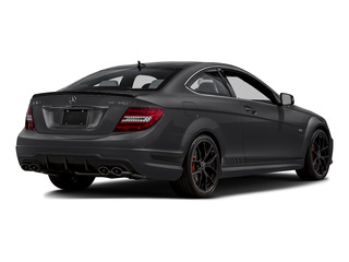 Steel Gray Metallic 2015 Mercedes-Benz C-Class Pictures C-Class Coupe 2D C63 AMG V8 photos rear view