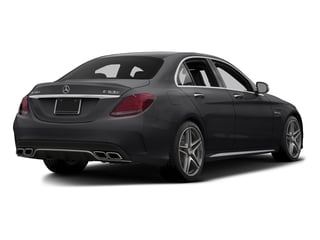 Black 2015 Mercedes-Benz C-Class Pictures C-Class Sedan 4D C63 AMG V8 Turbo photos rear view