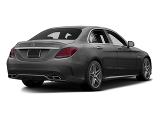 Steel Gray Metallic 2015 Mercedes-Benz C-Class Pictures C-Class Sedan 4D C63 AMG V8 Turbo photos rear view