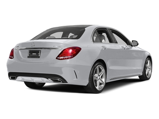 Polar White 2015 Mercedes-Benz C-Class Pictures C-Class Sedan 4D C400 AWD V6 Turbo photos rear view