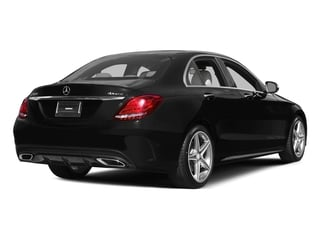 Obsidian Black Metallic 2015 Mercedes-Benz C-Class Pictures C-Class Sedan 4D C400 AWD V6 Turbo photos rear view