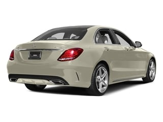 Diamond White Metallic 2015 Mercedes-Benz C-Class Pictures C-Class Sedan 4D C400 AWD V6 Turbo photos rear view