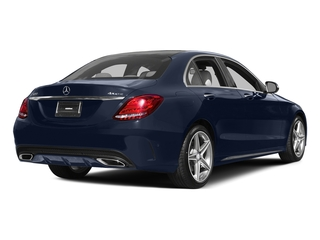 Lunar Blue Metallic 2015 Mercedes-Benz C-Class Pictures C-Class Sedan 4D C400 AWD V6 Turbo photos rear view