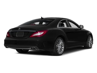 Magnetite Black Metallic 2015 Mercedes-Benz CLS-Class Pictures CLS-Class Sedan 4D CLS550 V8 Turbo photos rear view