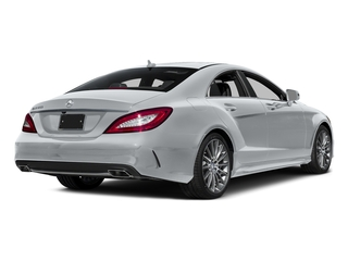 Diamond Silver Metallic 2015 Mercedes-Benz CLS-Class Pictures CLS-Class Sedan 4D CLS550 V8 Turbo photos rear view