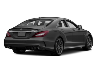 Steel Gray Metallic 2015 Mercedes-Benz CLS-Class Pictures CLS-Class Sedan 4D CLS63 AMG S AWD V8 photos rear view