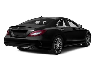 Obsidian Black Metallic 2015 Mercedes-Benz CLS-Class Pictures CLS-Class Sedan 4D CLS400 AWD V6 Turbo photos rear view
