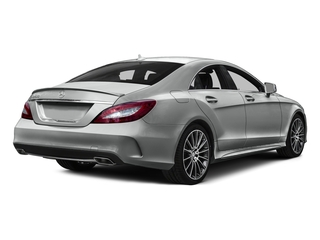 Palladium Silver Metallic 2015 Mercedes-Benz CLS-Class Pictures CLS-Class Sedan 4D CLS400 AWD V6 Turbo photos rear view