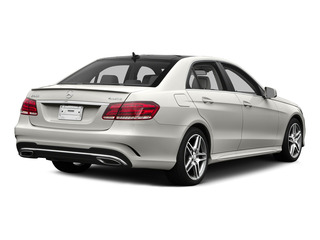 designo Magno Cashmere White 2015 Mercedes-Benz E-Class Pictures E-Class Sedan 4D E400 V6 Turbo photos rear view
