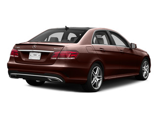 designo Mystic Brown 2015 Mercedes-Benz E-Class Pictures E-Class Sedan 4D E400 V6 Turbo photos rear view