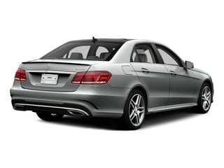Palladium Silver Metallic 2015 Mercedes-Benz E-Class Pictures E-Class Sedan 4D E400 V6 Turbo photos rear view