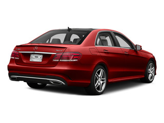 designo Cardinal Red Metallic 2015 Mercedes-Benz E-Class Pictures E-Class Sedan 4D E400 V6 Turbo photos rear view