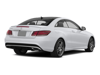 Polar White 2015 Mercedes-Benz E-Class Pictures E-Class Coupe 2D E550 V8 Turbo photos rear view