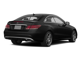 Obsidian Black Metallic 2015 Mercedes-Benz E-Class Pictures E-Class Coupe 2D E550 V8 Turbo photos rear view