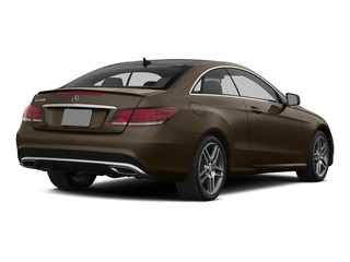 Dolomite Brown Metallic 2015 Mercedes-Benz E-Class Pictures E-Class Coupe 2D E550 V8 Turbo photos rear view