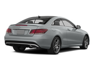 Iridium Silver Metallic 2015 Mercedes-Benz E-Class Pictures E-Class Coupe 2D E550 V8 Turbo photos rear view