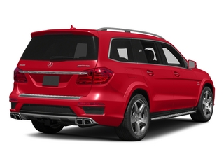 Cinnabar Red Metallic 2015 Mercedes-Benz GL-Class Pictures GL-Class Utility 4D GL63 AMG 4WD V8 photos rear view