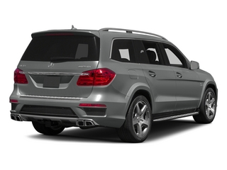 Palladium Silver Metallic 2015 Mercedes-Benz GL-Class Pictures GL-Class Utility 4D GL63 AMG 4WD V8 photos rear view