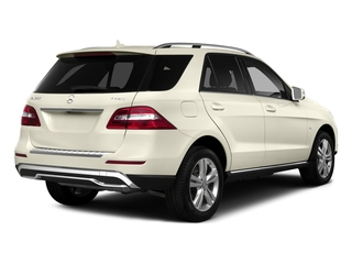 designo Diamond White Metallic 2015 Mercedes-Benz M-Class Pictures M-Class Utility 4D ML350 2WD V6 photos rear view