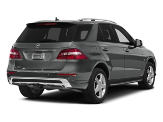 Palladium Silver Metallic 2015 Mercedes-Benz M-Class Pictures M-Class Utility 4D ML400 AWD V6 Turbo photos rear view