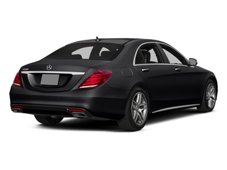 Black 2015 Mercedes-Benz S-Class Pictures S-Class Sedan 4D S550 AWD V8 photos rear view
