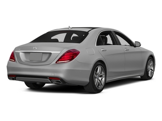 designo Magno Alanite Gray (Matte Finish) 2015 Mercedes-Benz S-Class Pictures S-Class Sedan 4D S550 AWD V8 photos rear view
