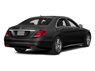 Magnetite Black Metallic 2015 Mercedes-Benz S-Class Pictures S-Class Sedan 4D S550 AWD V8 photos rear view