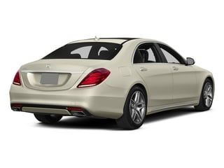 designo Diamond White 2015 Mercedes-Benz S-Class Pictures S-Class Sedan 4D S550 AWD V8 photos rear view