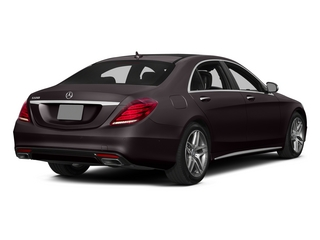 Ruby Black Metallic 2015 Mercedes-Benz S-Class Pictures S-Class Sedan 4D S550 AWD V8 photos rear view