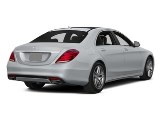 Diamond Silver Metallic 2015 Mercedes-Benz S-Class Pictures S-Class Sedan 4D S550 AWD V8 photos rear view