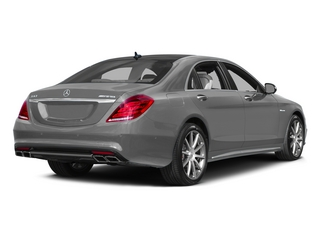 designo Magno Alanite Gray (Matte Finish) 2015 Mercedes-Benz S-Class Pictures S-Class Sedan 4D S63 AMG AWD V8 Turbo photos rear view