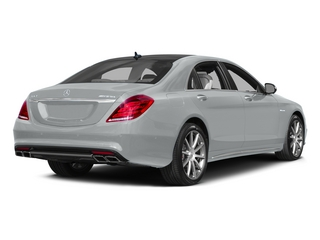 Iridium Silver Metallic 2015 Mercedes-Benz S-Class Pictures S-Class Sedan 4D S63 AMG AWD V8 Turbo photos rear view