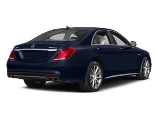 Lunar Blue Metallic 2015 Mercedes-Benz S-Class Pictures S-Class Sedan 4D S63 AMG AWD V8 Turbo photos rear view
