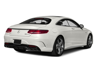 designo Magno Cashmere White (Matte Finish) 2015 Mercedes-Benz S-Class Pictures S-Class Coupe 2D S63 AMG AWD V8 Turbo photos rear view