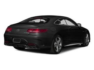 Obsidian Black Metallic 2015 Mercedes-Benz S-Class Pictures S-Class Coupe 2D S63 AMG AWD V8 Turbo photos rear view