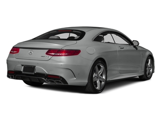 Palladium Silver Metallic 2015 Mercedes-Benz S-Class Pictures S-Class Coupe 2D S63 AMG AWD V8 Turbo photos rear view