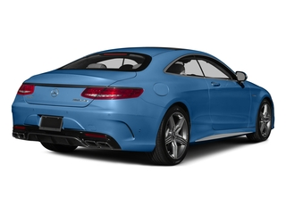 Lunar Blue Metallic 2015 Mercedes-Benz S-Class Pictures S-Class Coupe 2D S63 AMG AWD V8 Turbo photos rear view