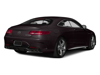 Ruby Black Metallic 2015 Mercedes-Benz S-Class Pictures S-Class Coupe 2D S63 AMG AWD V8 Turbo photos rear view