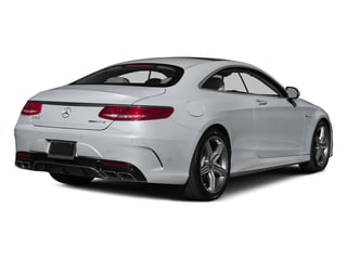 Diamond Silver Metallic 2015 Mercedes-Benz S-Class Pictures S-Class Coupe 2D S63 AMG AWD V8 Turbo photos rear view