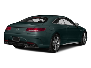 Emerald Green Metallic 2015 Mercedes-Benz S-Class Pictures S-Class Coupe 2D S63 AMG AWD V8 Turbo photos rear view