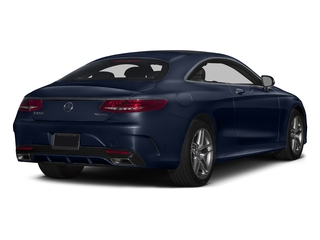 Lunar Blue Metallic 2015 Mercedes-Benz S-Class Pictures S-Class Coupe 2D S550 AWD V8 Turbo photos rear view