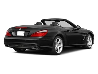 Obsidian Black Metallic 2015 Mercedes-Benz SL-Class Pictures SL-Class Roadster 2D SL550 V8 Turbo photos rear view