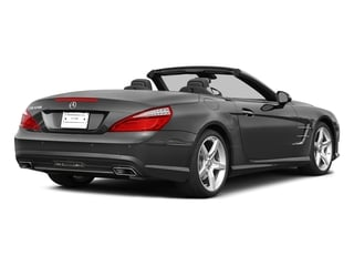 Steel Gray Metallic 2015 Mercedes-Benz SL-Class Pictures SL-Class Roadster 2D SL550 V8 Turbo photos rear view